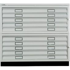 Картотека металлическая BISLEY FCB 42L (PC 471/472)