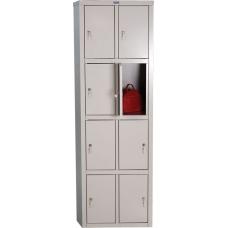 Шкаф для раздевалки ПРАКТИК LS(LE)-24
