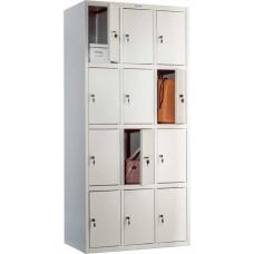 Шкаф для раздевалки ПРАКТИК LS(LE)-34