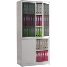 Металлический офисный шкаф NOBILIS NM-1991/2G