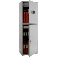 Бухгалтерский шкаф металлический ПРАКТИК SL-150/2T EL