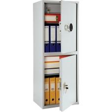 Бухгалтерский шкаф металлический ПРАКТИК SL-125/2T EL