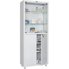 Шкаф медицинский металлический HILFE MD 2 1670/SG